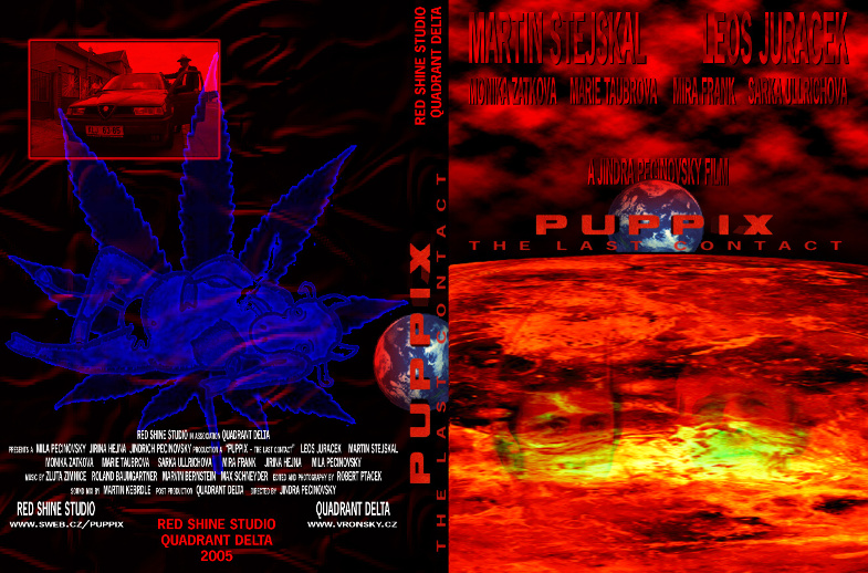 Puppix - DVD cover by Robert Ptáček & Vronsky Film production